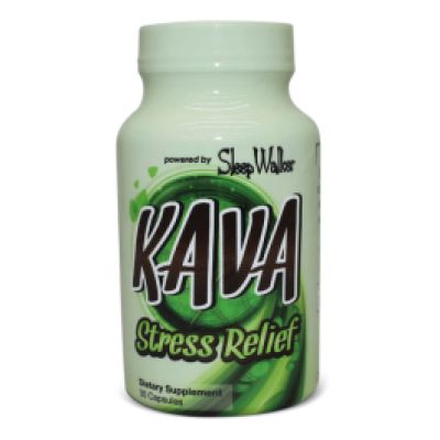 KAVA Stress Relief 60ct powered by Sleepwalker
