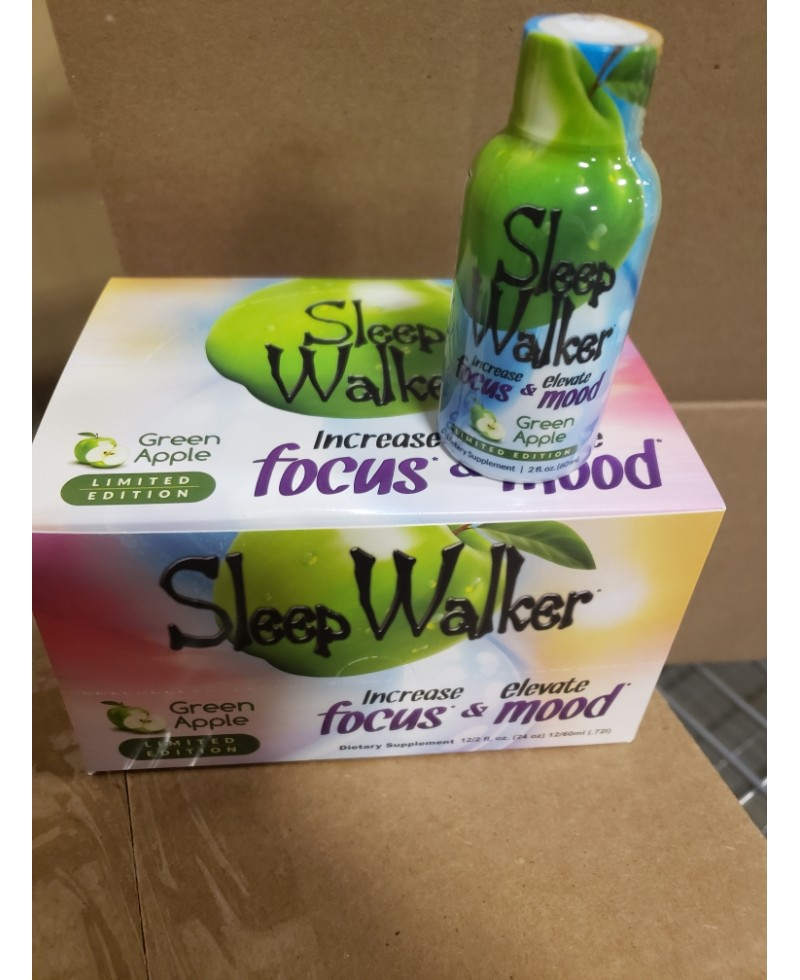 Sleepwalker Focus & Mood Green Apple Shots