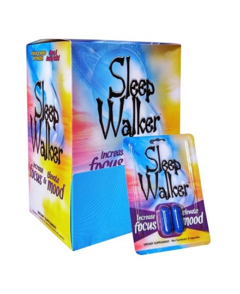 Sleep Walker Display Box of 24 (2 per pack)